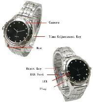 Spy watch camera