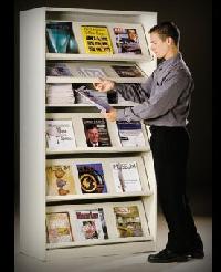 Magazine Display Racks