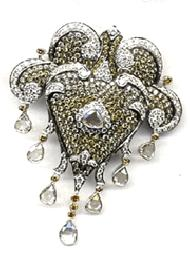 Diamond Studded Pendant