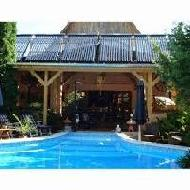 Solar swimming pool