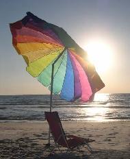 Designer Beach Umbrella